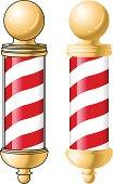 Gold Barber Pole