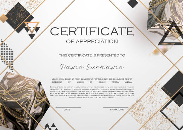 Gold, black, white marble template. Gold, black, white marble template, artistic covers design, colorful texture, realistic cube, backgrounds. Trendy pattern, graphic poster, geometric brochure, cards. Vector illustration. extreme close up stock illustrations