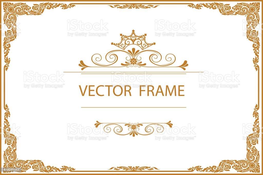fine border design template vignette example resume and
