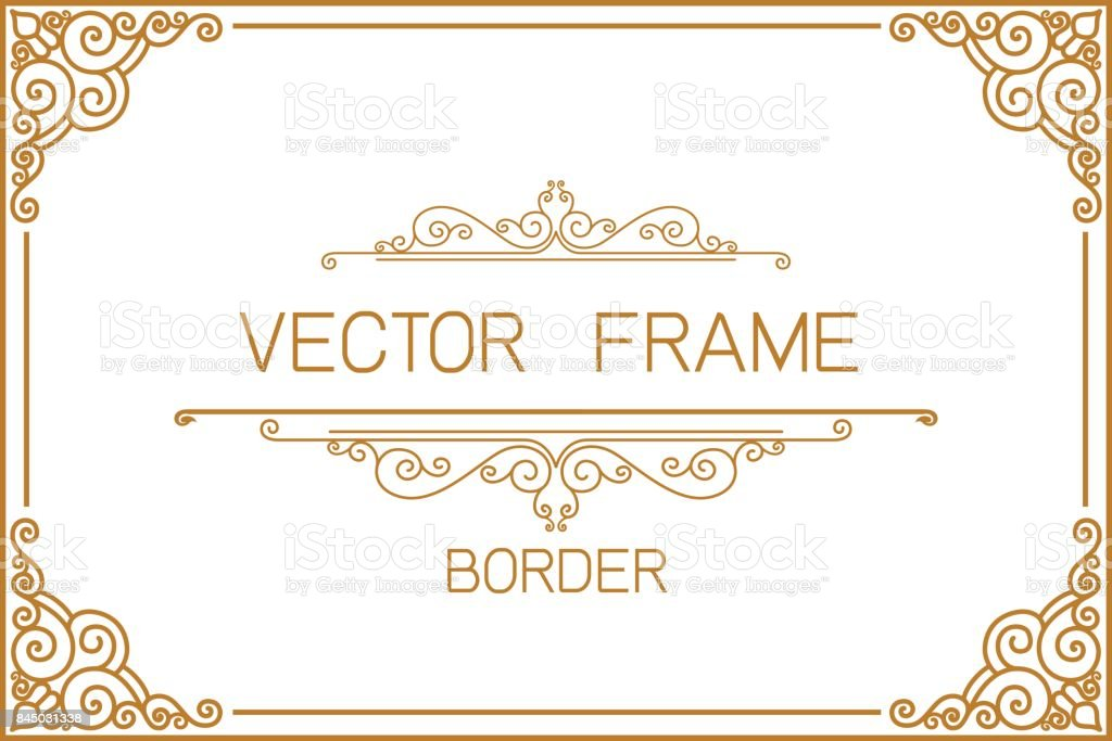 Gold border design frame photo template certificate template with gold border design frame photo template certificate template with luxury and modern pattern yadclub Image collections