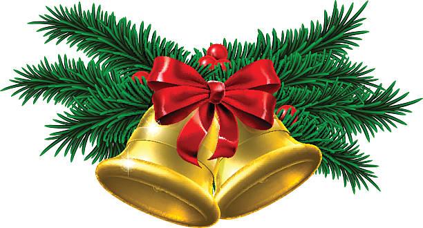 Best Christmas Bells Illustrations, Royalty-Free Vector ...