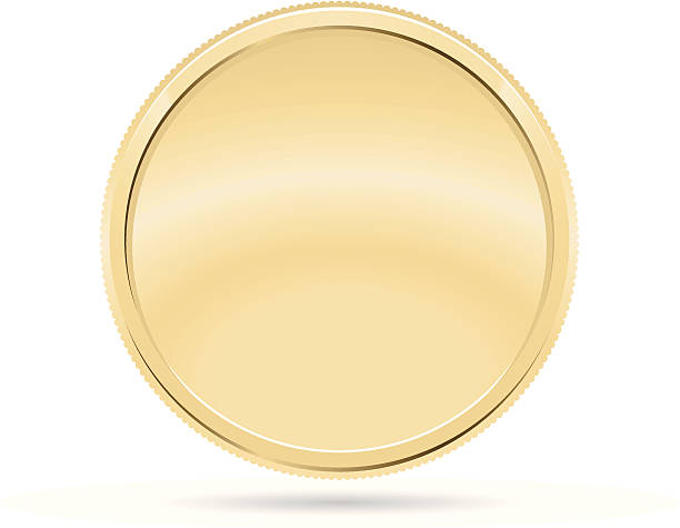 Gold Coin, Medal See Others: coin stock illustrations