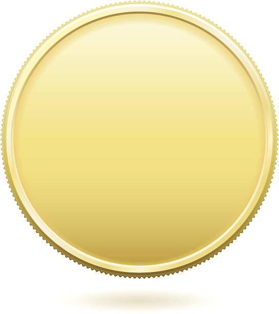 Best Gold Coin Illustrations, Royalty-Free Vector Graphics ...