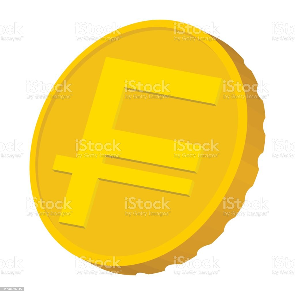 Gold coin with Swiss Frank sign icon gold coin with swiss frank sign icon - arte vetorial de stock e mais imagens de antiguidades royalty-free