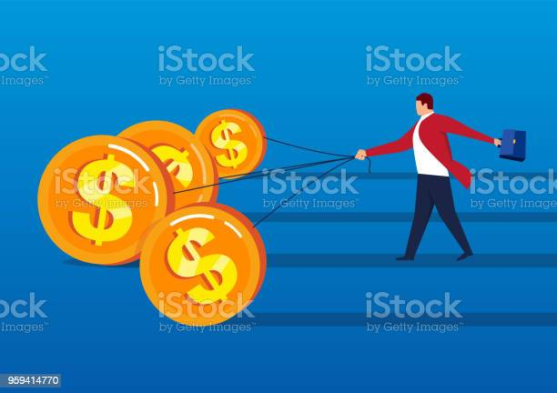 Gold coins pulling businessman forward vector id959414770?b=1&k=6&m=959414770&s=612x612&h=gmnjg46xn3av5eih5gxup l uvocvj74q3j0cuidhlm=