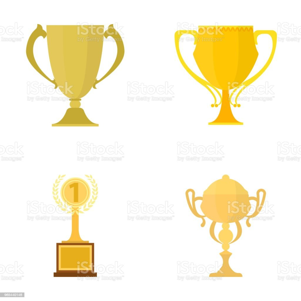 Gold Cup cartoon icons in set collection for design. Winners Cup vector symbol stock web illustration. gold cup cartoon icons in set collection for design winners cup vector symbol stock web illustration - stockowe grafiki wektorowe i więcej obrazów bez ludzi royalty-free