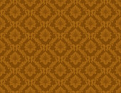 istock Gold Damask Luxury Decorative Textile Pattern 1249253039