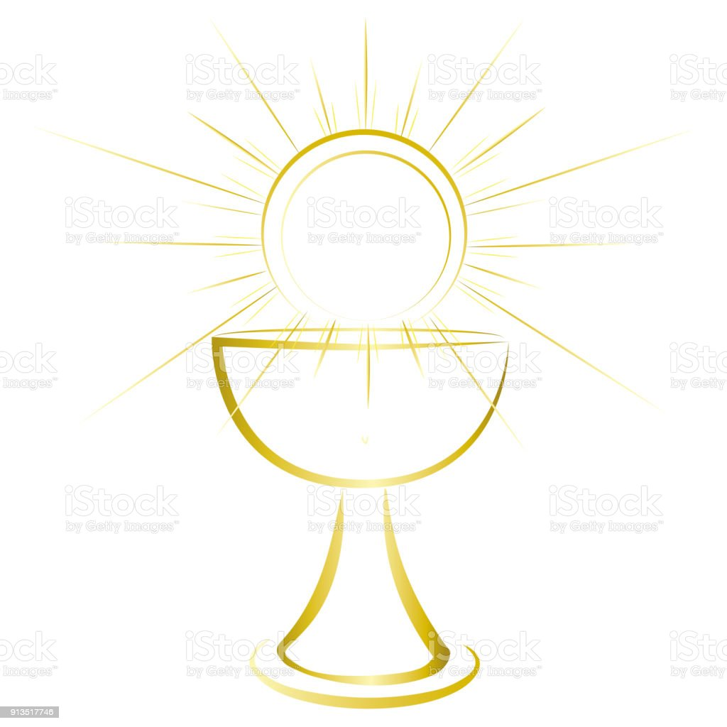 Gold design first communion symbol for a nice invitation design gold design first communion symbol for a nice invitation design royalty free gold stopboris Image collections