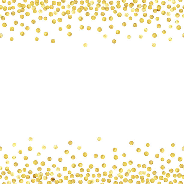 gold dot seamless 2 - gold stock illustrations