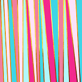 Gold foil grunge stripes texture with blue and pink background. Abstract vector pattern. Metallic golden texture for cards, party invitation, packaging, surface design.