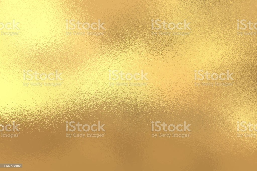 Fond de texture de feuille d'or, illustration vectorielle - clipart vectoriel de Abstrait libre de droits