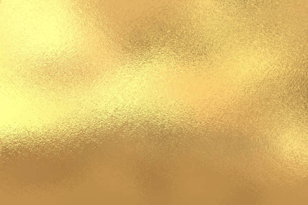 gold foil texture background, vector illustration - gold stock illustrations