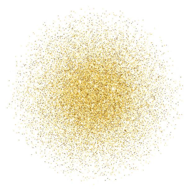 stos gradientu brokatu złota - migoczący stock illustrations