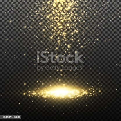 666540036istockphoto Gold glitter particles 1080591004