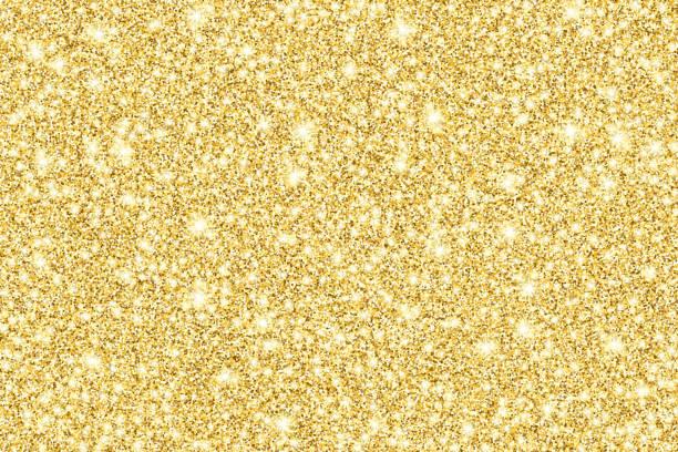 złoty brokat błyszczące tło wektorowe - migoczący stock illustrations