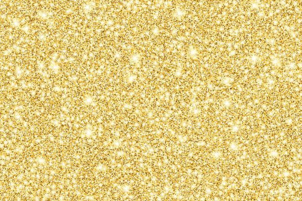 Gold glitter shiny vector background vector art illustration