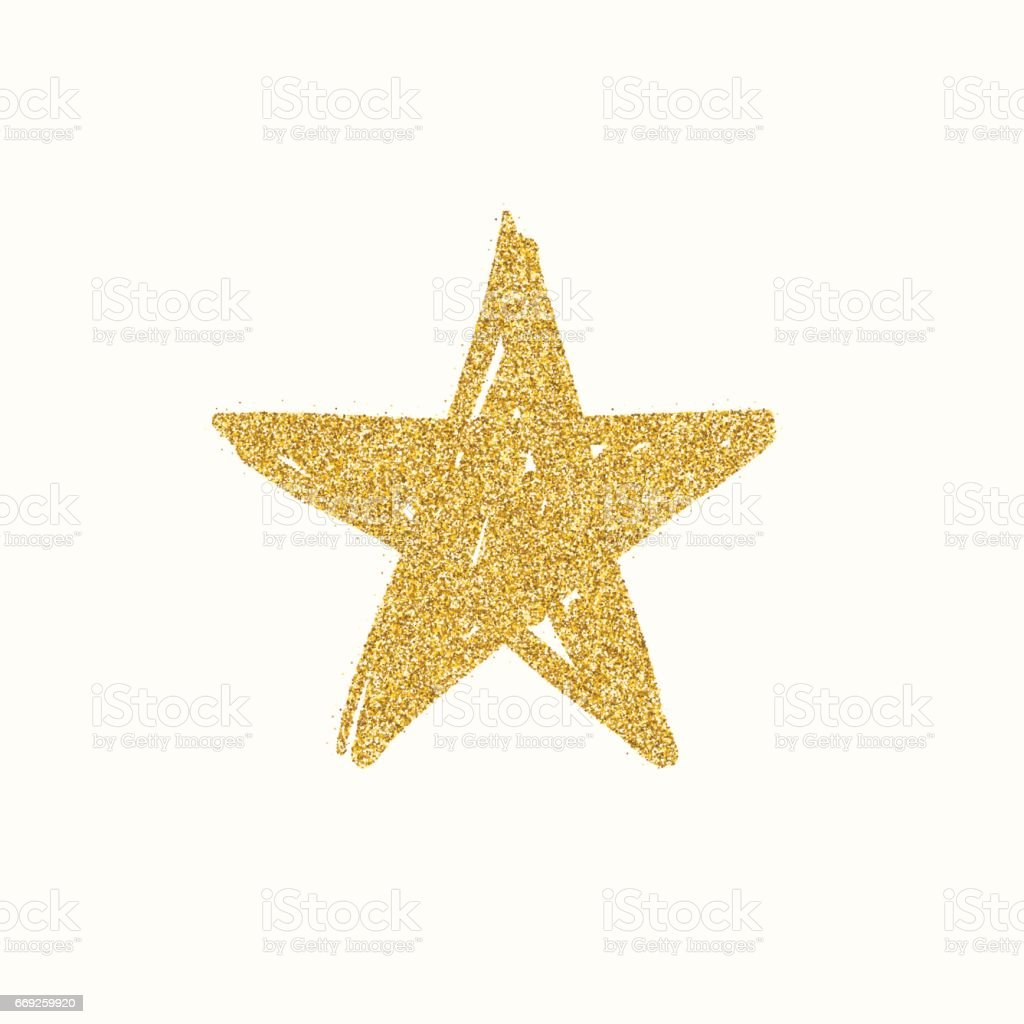 gold glitter star stock vector art amp more images of