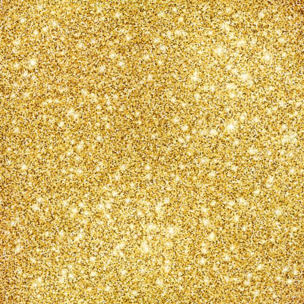 tło tekstury złotego brokatu - migoczący stock illustrations