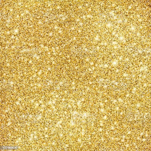 Gold Glitter Texture Background - Immagini vettoriali stock e altre immagini di Amore