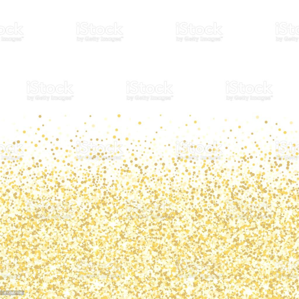 gold glitter texture golden shiny sparkles on white
