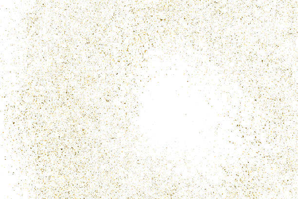 Gold glitter texture isolated on white. Gold glitter texture isolated on white. Amber particles color. Celebratory background. Golden explosion of confetti.  Digitally Generated Image. Vector illustration,eps 10. sergionicr stock illustrations