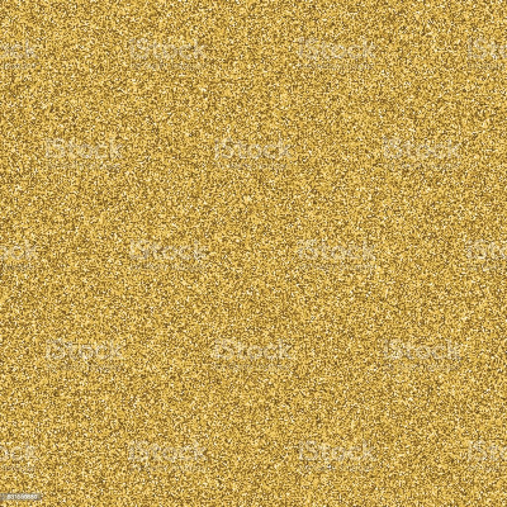 Gold glitter texture seamless vector for design layout background. royalty-free gold glitter texture seamless vector for design layout background stock illustration - download image now