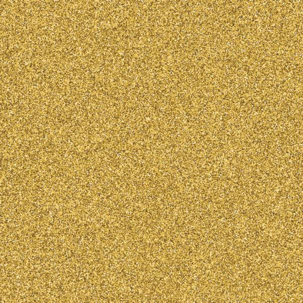 Gold glitter texture seamless vector for design layout background. vector art illustration