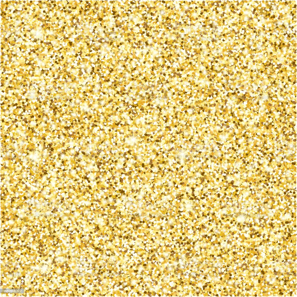 Gold glitter texture vector background vector art illustration