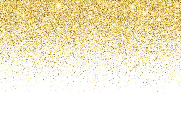 gold glitter texture vector gradient background - gold stock illustrations