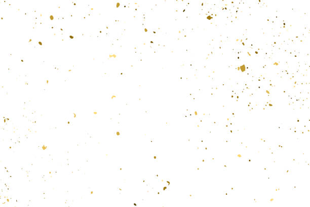 Gold Glitter Texture Vector. Gold Glitter Texture Isolated On White. Amber Particles Color. Celebratory Background. Golden Explosion Of Confetti. Design Element. Digitally Generated Image. Vector Illustration, Eps 10. sergionicr stock illustrations