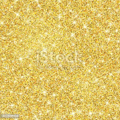 Gold Glitter Texture With Sparkles Stock Vector Art Amp More