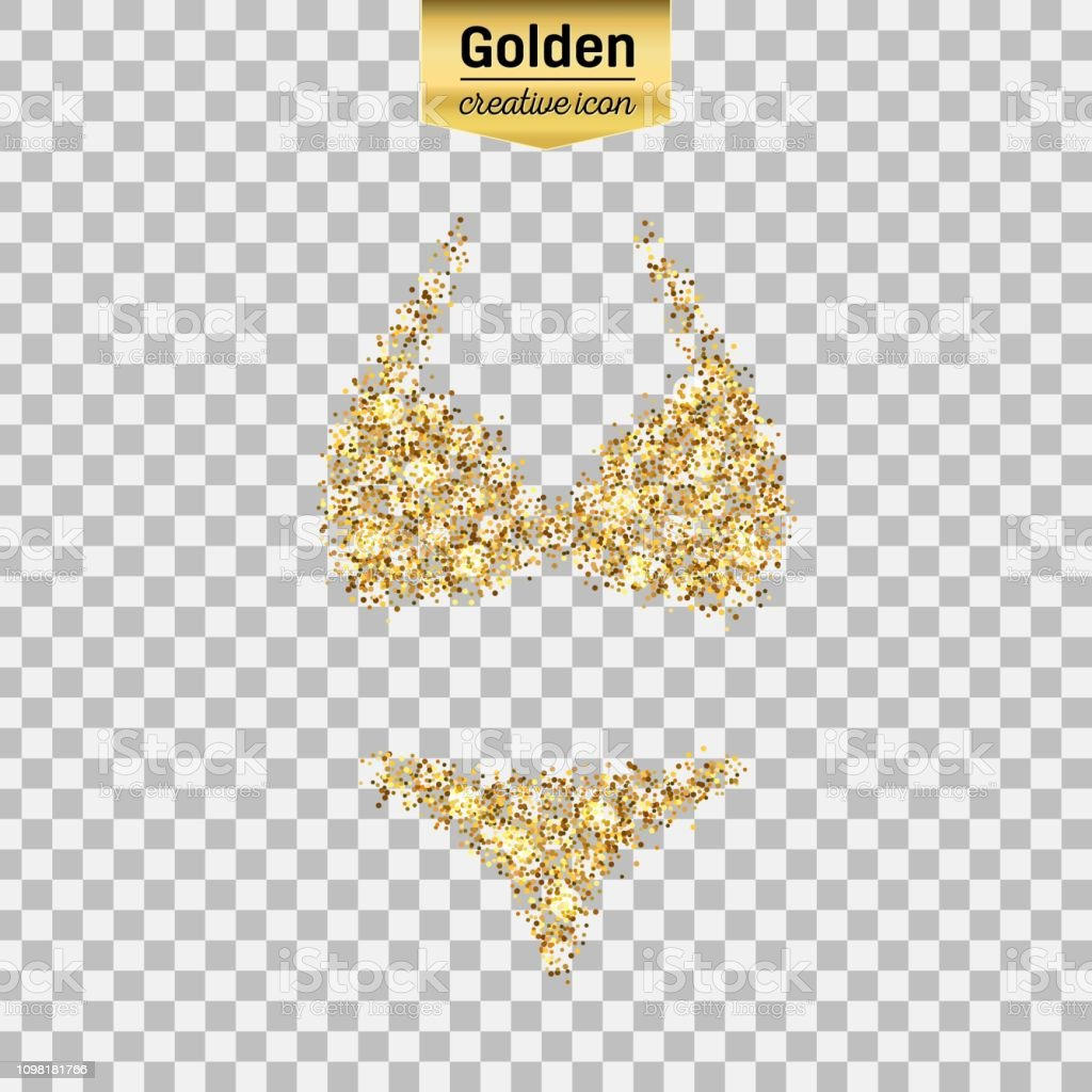 d33f8a24947d16 Gold glitter vector icon royalty-free gold glitter vector icon stock vector  art  amp