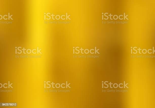 Gouden Kleurovergangsstijl Onscherpe Achtergrond Gouden Metalen Materiële Textuur Stockvectorkunst en meer beelden van Abstract
