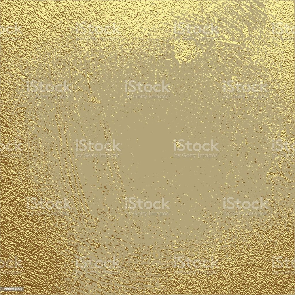 Gold Grunge Texture To Create Distressed Effect Stock Vector Art ...