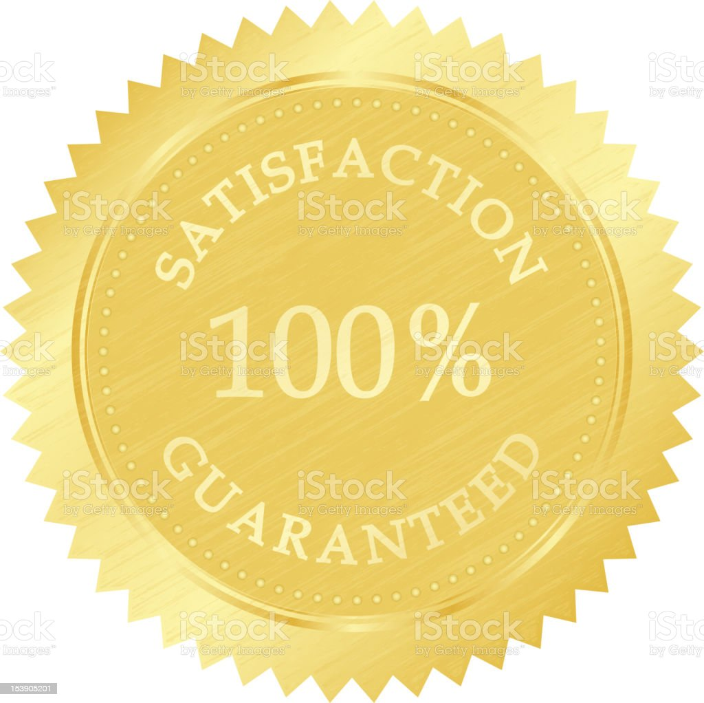 gold guarantee stamp royalty-free gold guarantee stamp stock vector art & more images of gold colored