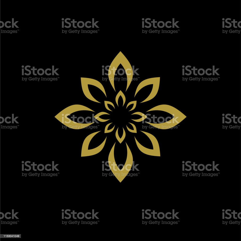 icon symbol leaf ornament