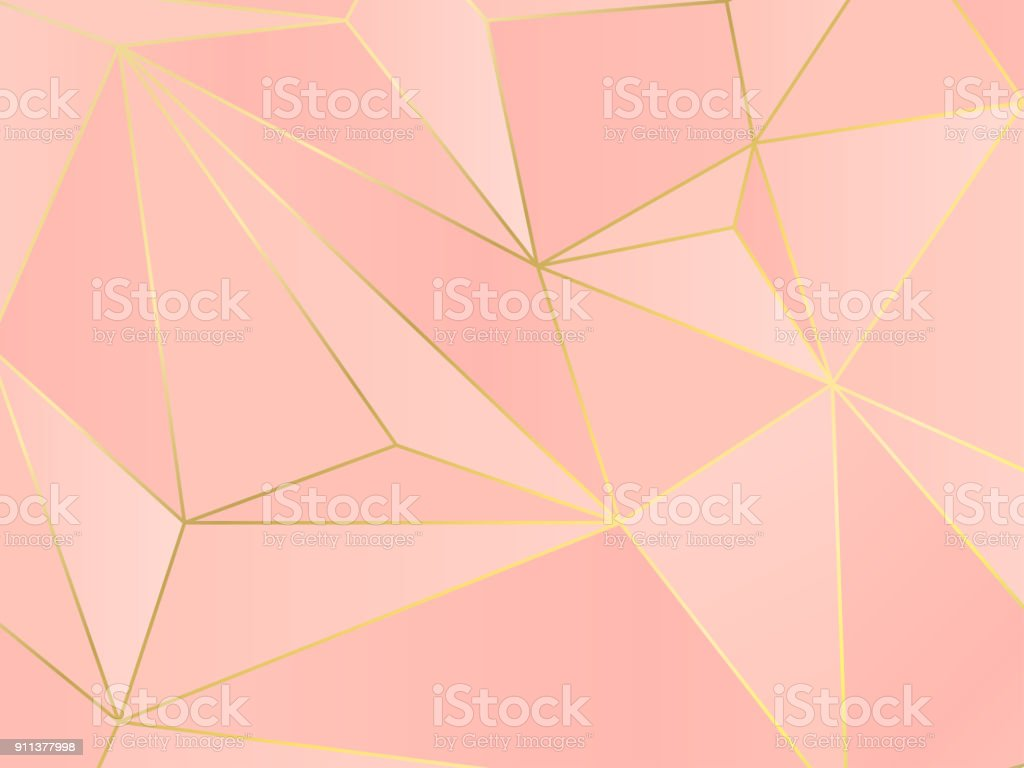 (illustration) gold line background, abstract artistic of geometric background - ilustração de arte vetorial