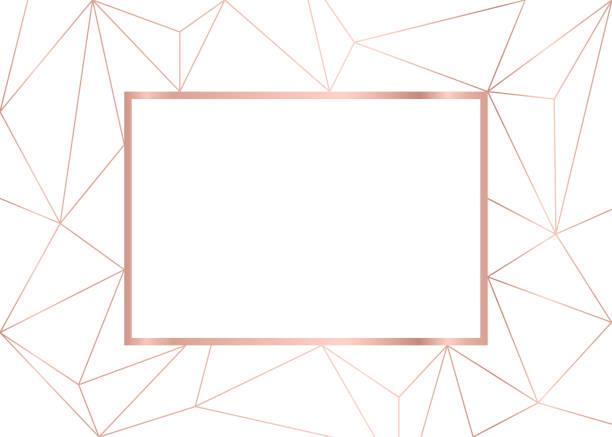 (插圖) 金線背景, 抽象的幾何背景藝術 - 女性化 幅插畫檔、美工圖案、卡通及圖標