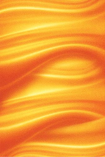 Mezzotint illustration of a liquid gold background.