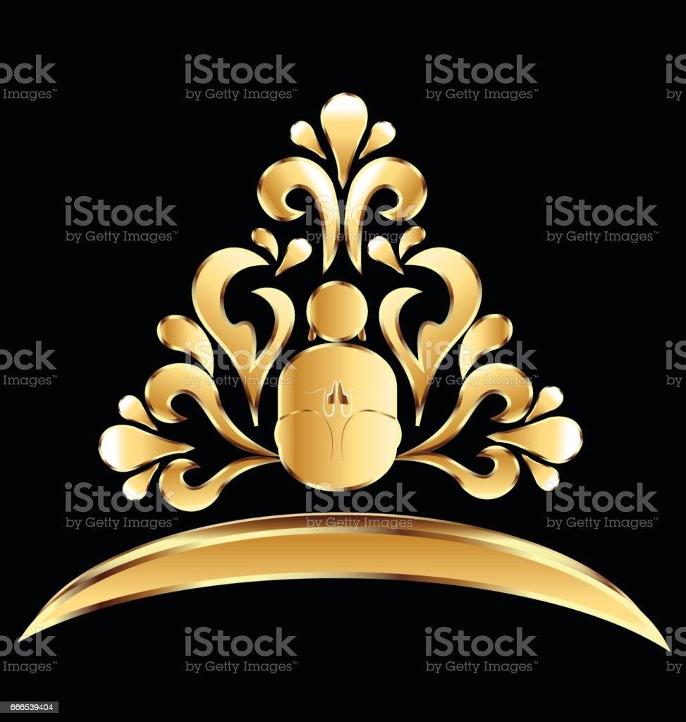 Gold lotus flower yoga symbol stock vector art more images of gold lotus flower yoga symbol royalty free gold lotus flower yoga symbol stock vector art mightylinksfo