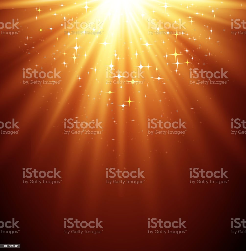 Gold Magic light royalty-free gold magic light stock vector art & more images of abstract
