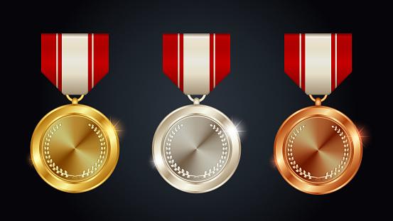 Gold Medal Silver Medal Bronze Medal
