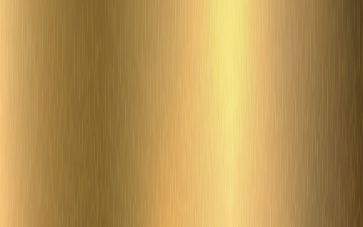 Gold metallic gradient with scratches. Gold foil surface texture effect. Vector illustration