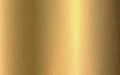 istock Gold metallic gradient with scratches. Gold foil surface texture effect. Vector illustration 1304569104