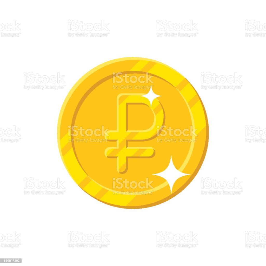 Gold ruble coin cartoon style isolated stock vector art more gold ruble coin cartoon style isolated royalty free gold ruble coin cartoon style isolated stock biocorpaavc Images