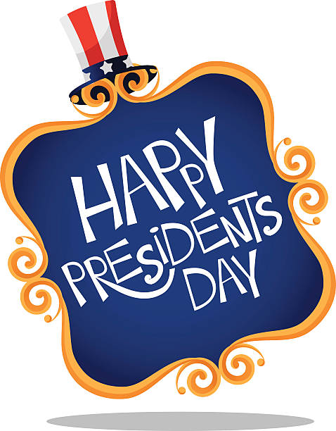 Presidents day stock vector. Illustration of headline ... |Presidents Day Clip Art