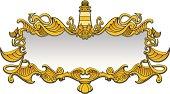 Gold sea frame