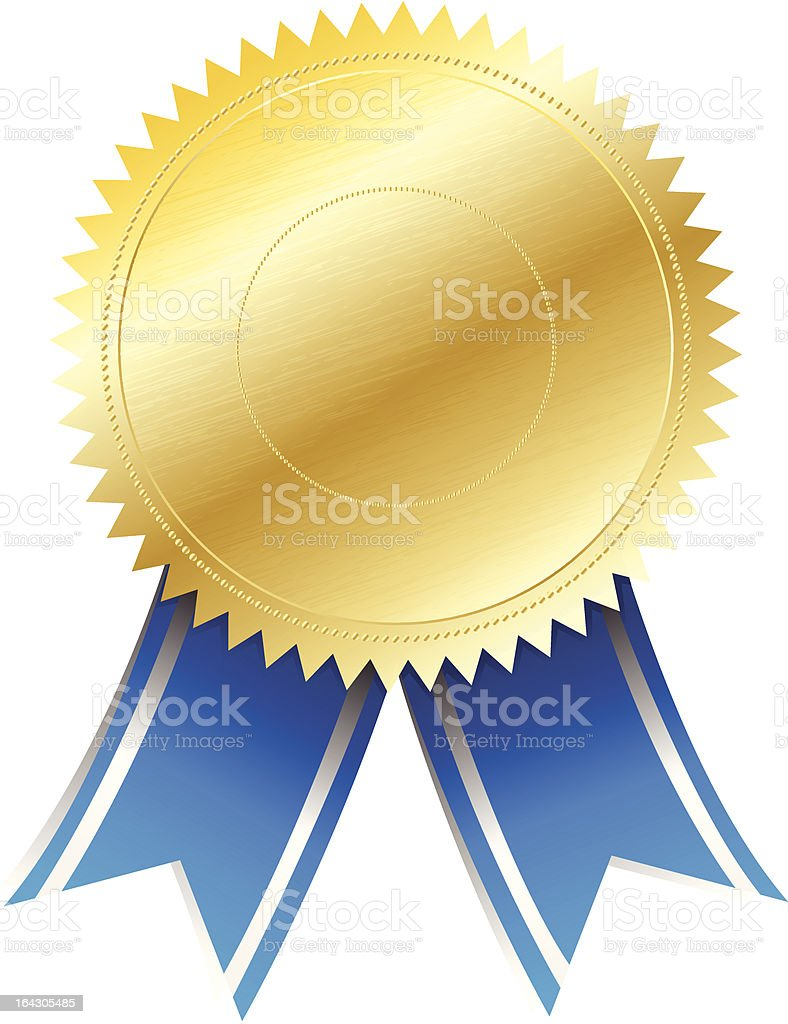 Electronic 3d Gold Seal Certificate Seal Http Www Wpclipart Com