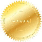 Gold Seal Stamp