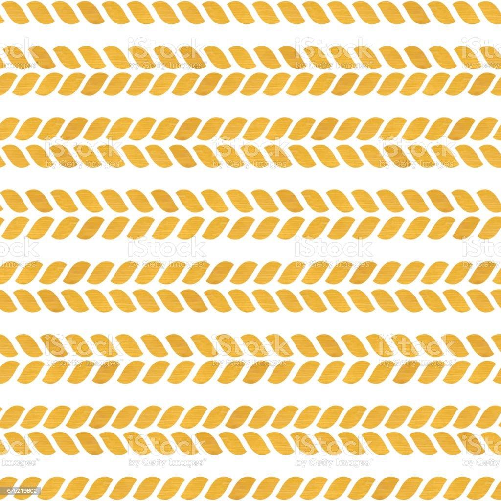 Gold seamless pattern. vector art illustration